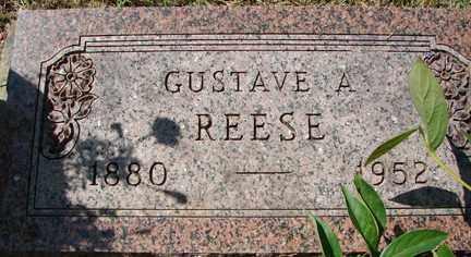 REESE, GUSTAVE A. - Minnehaha County, South Dakota   GUSTAVE A. REESE - South Dakota Gravestone Photos