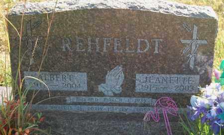 REHFELDT, JEANETTE - Minnehaha County, South Dakota | JEANETTE REHFELDT - South Dakota Gravestone Photos