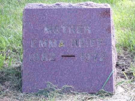 REIFF, EMMA - Minnehaha County, South Dakota | EMMA REIFF - South Dakota Gravestone Photos