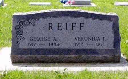 REIFF, VERONICA IRENE - Minnehaha County, South Dakota | VERONICA IRENE REIFF - South Dakota Gravestone Photos
