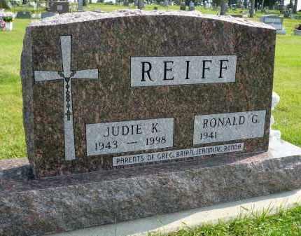 REIFF, JUDIE K. - Minnehaha County, South Dakota | JUDIE K. REIFF - South Dakota Gravestone Photos