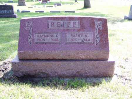 REIFF, VASHTI M. - Minnehaha County, South Dakota | VASHTI M. REIFF - South Dakota Gravestone Photos