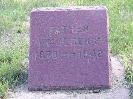 REIFF, WILLIAM H. - Minnehaha County, South Dakota | WILLIAM H. REIFF - South Dakota Gravestone Photos