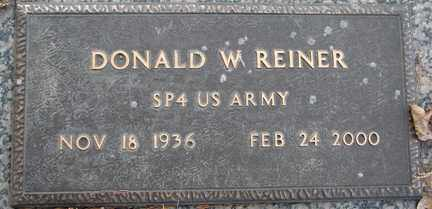 REINER, DONALD W. (MILITARY) - Minnehaha County, South Dakota | DONALD W. (MILITARY) REINER - South Dakota Gravestone Photos