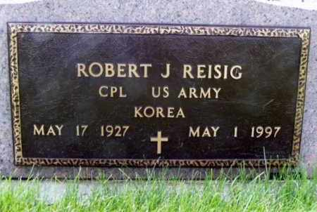 REISIG, ROBERT J. - Minnehaha County, South Dakota | ROBERT J. REISIG - South Dakota Gravestone Photos
