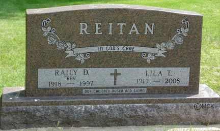AARSTAD REITAN, LILA L. - Minnehaha County, South Dakota   LILA L. AARSTAD REITAN - South Dakota Gravestone Photos