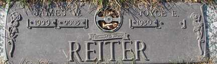 REITER, JAMES W. - Minnehaha County, South Dakota | JAMES W. REITER - South Dakota Gravestone Photos