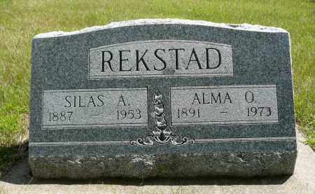 REKSTAD, ALMA O. - Minnehaha County, South Dakota | ALMA O. REKSTAD - South Dakota Gravestone Photos