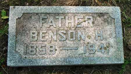 REQUA, BENSON H. - Minnehaha County, South Dakota | BENSON H. REQUA - South Dakota Gravestone Photos