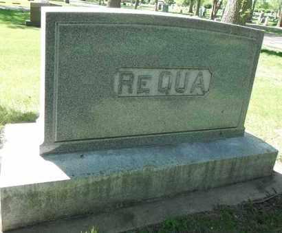 REQUA, FAMILY STONE - Minnehaha County, South Dakota   FAMILY STONE REQUA - South Dakota Gravestone Photos