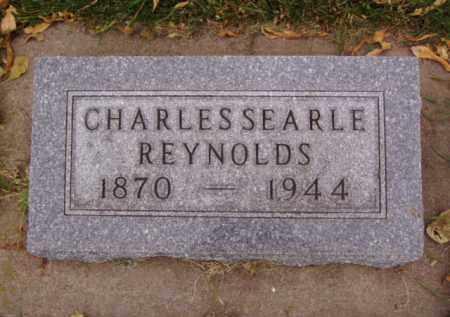 REYNOLDS, CHARLES SEARLE - Minnehaha County, South Dakota | CHARLES SEARLE REYNOLDS - South Dakota Gravestone Photos