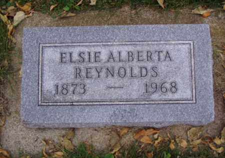 REYNOLDS, ELSIE ALBERTA - Minnehaha County, South Dakota | ELSIE ALBERTA REYNOLDS - South Dakota Gravestone Photos