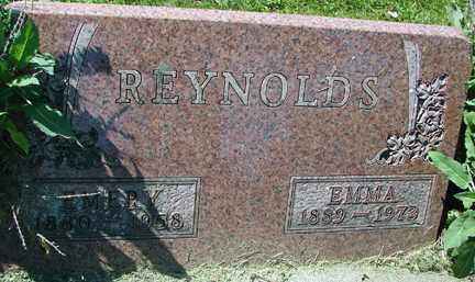 REYNOLDS, EMERY - Minnehaha County, South Dakota   EMERY REYNOLDS - South Dakota Gravestone Photos