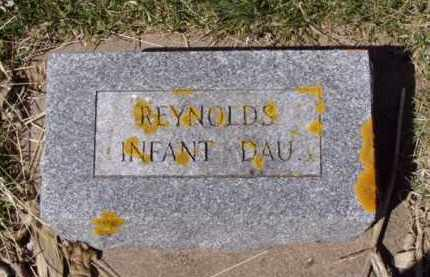 REYNOLDS, INFANT DAU. - Minnehaha County, South Dakota | INFANT DAU. REYNOLDS - South Dakota Gravestone Photos