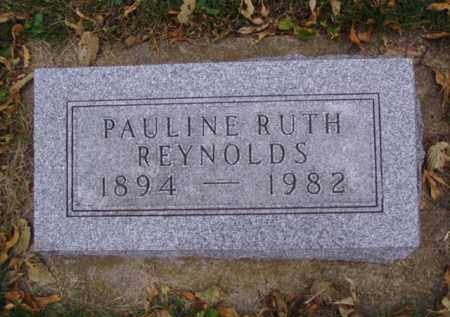 REYNOLDS, PAULINE RUTH - Minnehaha County, South Dakota | PAULINE RUTH REYNOLDS - South Dakota Gravestone Photos