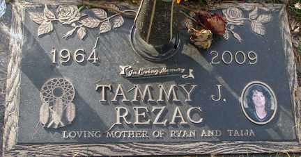 REZAC, TAMMY J. - Minnehaha County, South Dakota | TAMMY J. REZAC - South Dakota Gravestone Photos