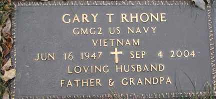 RHONE, GARY T. (VIETNAM) - Minnehaha County, South Dakota | GARY T. (VIETNAM) RHONE - South Dakota Gravestone Photos