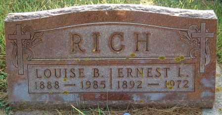 RICH, ERNEST L. - Minnehaha County, South Dakota | ERNEST L. RICH - South Dakota Gravestone Photos