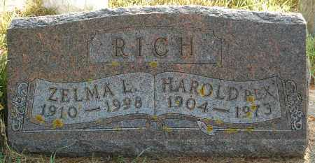 RICH, ZELMA L. - Minnehaha County, South Dakota | ZELMA L. RICH - South Dakota Gravestone Photos