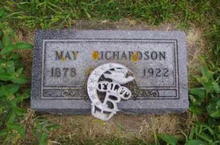 RICHARDSON, MAY - Minnehaha County, South Dakota | MAY RICHARDSON - South Dakota Gravestone Photos