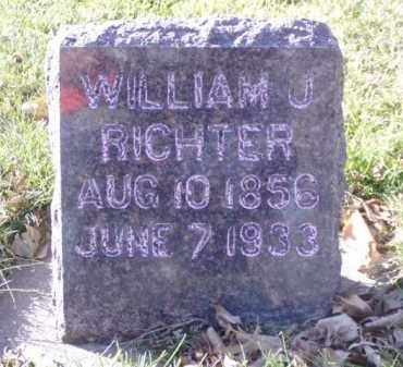 RICHTER, WILLIAM J. - Minnehaha County, South Dakota | WILLIAM J. RICHTER - South Dakota Gravestone Photos