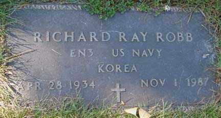 ROBB, RICHARD RAY - Minnehaha County, South Dakota | RICHARD RAY ROBB - South Dakota Gravestone Photos