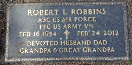 ROBBINS, ROBERT L. - Minnehaha County, South Dakota   ROBERT L. ROBBINS - South Dakota Gravestone Photos