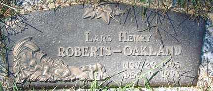 ROBERTS-OAKLAND, LARS HENRY - Minnehaha County, South Dakota | LARS HENRY ROBERTS-OAKLAND - South Dakota Gravestone Photos