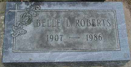 ROBERTS, BELLE L. - Minnehaha County, South Dakota | BELLE L. ROBERTS - South Dakota Gravestone Photos