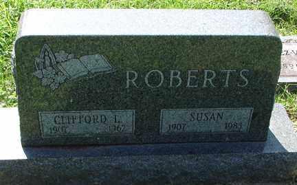 ROBERTS, CLIFFORD L. - Minnehaha County, South Dakota | CLIFFORD L. ROBERTS - South Dakota Gravestone Photos