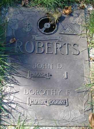 ROBERTS, DOROTHY FRANCES - Minnehaha County, South Dakota | DOROTHY FRANCES ROBERTS - South Dakota Gravestone Photos