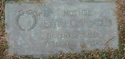 ROBERTS, EFFIE O. - Minnehaha County, South Dakota | EFFIE O. ROBERTS - South Dakota Gravestone Photos