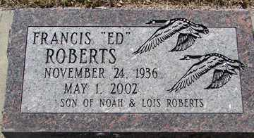 "ROBERTS, FRANCIS ""ED"" - Minnehaha County, South Dakota 