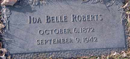 ROBERTS, IDA BELLE - Minnehaha County, South Dakota | IDA BELLE ROBERTS - South Dakota Gravestone Photos