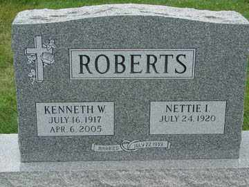 ROBERTS, KENNETH W. - Minnehaha County, South Dakota | KENNETH W. ROBERTS - South Dakota Gravestone Photos