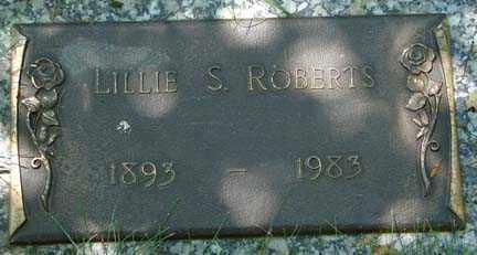 ROBERTS, LILLIE S. - Minnehaha County, South Dakota | LILLIE S. ROBERTS - South Dakota Gravestone Photos