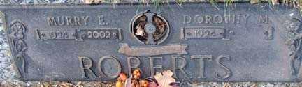 ROBERTS, DOROTHY M. - Minnehaha County, South Dakota | DOROTHY M. ROBERTS - South Dakota Gravestone Photos