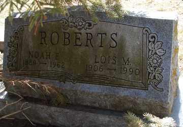 ROBERTS, LOIS M. - Minnehaha County, South Dakota | LOIS M. ROBERTS - South Dakota Gravestone Photos