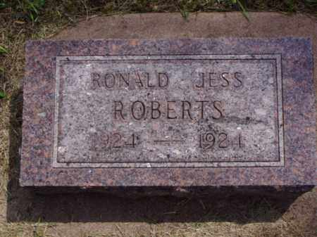 ROBERTS, RONALD JESS - Minnehaha County, South Dakota | RONALD JESS ROBERTS - South Dakota Gravestone Photos