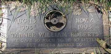 ROBERTS, TANNER WILLIAM - Minnehaha County, South Dakota | TANNER WILLIAM ROBERTS - South Dakota Gravestone Photos
