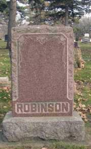ROBERTSON, FAMILY MARKER - Minnehaha County, South Dakota | FAMILY MARKER ROBERTSON - South Dakota Gravestone Photos
