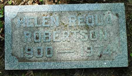 REQUA ROBERTSON, HELEN ISABEL - Minnehaha County, South Dakota | HELEN ISABEL REQUA ROBERTSON - South Dakota Gravestone Photos