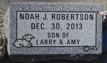 ROBERTSON, NOAH J. - Minnehaha County, South Dakota | NOAH J. ROBERTSON - South Dakota Gravestone Photos