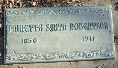 ROBERTSON, PHINETTA - Minnehaha County, South Dakota   PHINETTA ROBERTSON - South Dakota Gravestone Photos