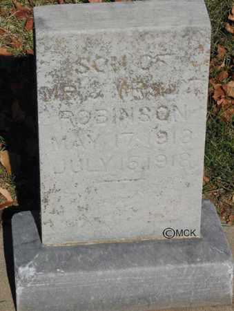 ROBINSON, JAMES LEWIS - Minnehaha County, South Dakota | JAMES LEWIS ROBINSON - South Dakota Gravestone Photos