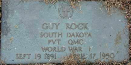ROCK, GUY (WWI) - Minnehaha County, South Dakota | GUY (WWI) ROCK - South Dakota Gravestone Photos