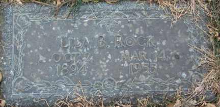 ROCK, LILA B. - Minnehaha County, South Dakota | LILA B. ROCK - South Dakota Gravestone Photos