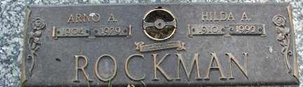 ROCKMAN, ARNO A. - Minnehaha County, South Dakota | ARNO A. ROCKMAN - South Dakota Gravestone Photos