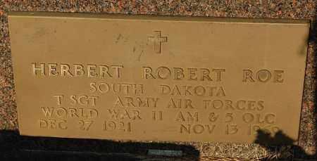 ROE, HERBERT ROBERT (WW II) - Minnehaha County, South Dakota | HERBERT ROBERT (WW II) ROE - South Dakota Gravestone Photos