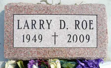 ROE, LARRY D. - Minnehaha County, South Dakota | LARRY D. ROE - South Dakota Gravestone Photos
